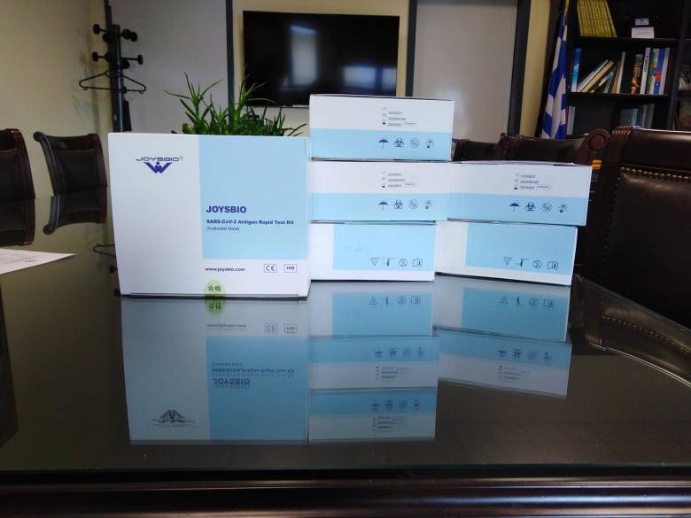 Παραδόθηκαν 220 rapid test στο Κέντρο Υγείας Αλιάρτου απο τον Δήμαρχο Ντασιώτη Γεώργιο(φωτο)