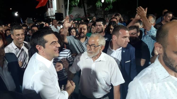 Χαμός, πολύς κόσμος με Τσίπρα σε Τρίπολη! (photos +video)