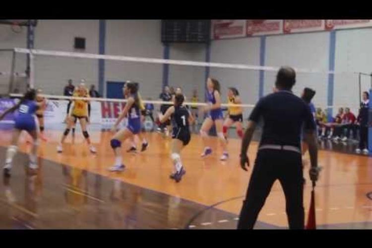 ArgolidaPortal.gr Άργος-βόλεϊ ευρωπαϊκό πρωτάθλημα παγκορασίδων Ουκρανία-Ελλάδα 1-3