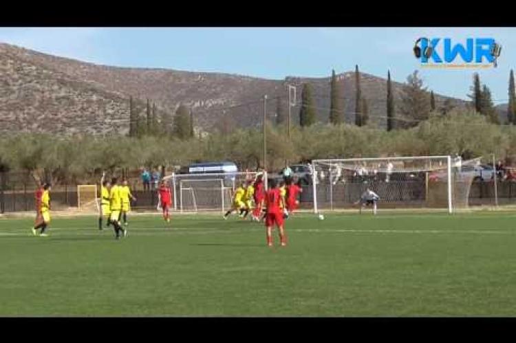 Α.Μ.Σ Βρασιές vs Κορακοβούνι 0-0 23/10/2016