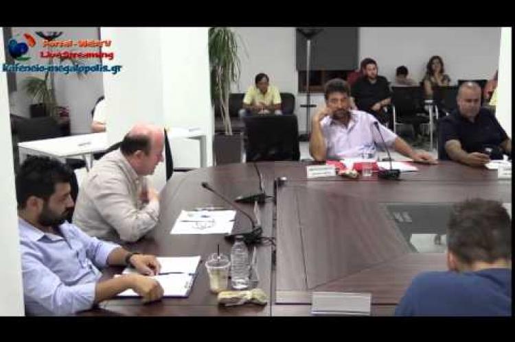 Έντονη αντίδραση Μπούρα για το έλλειμμα 700.000 ευρώ στον Δήμο Μεγαλόπολης