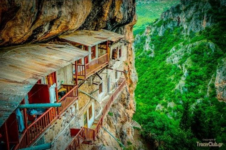 Επίσκεψη στην Ι.Μ.Προδρόμου - visit monastery Prodromos
