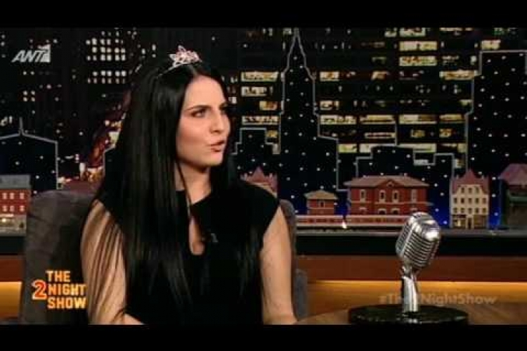 The 2Night Show - Άνδρια Παναγιωτοπούλου | Andria Panagiotopoulou - 16/2/2017