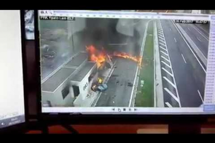 Το δυστύχημα στην Αθηνών Λαμίας Προκαλεί σοκ