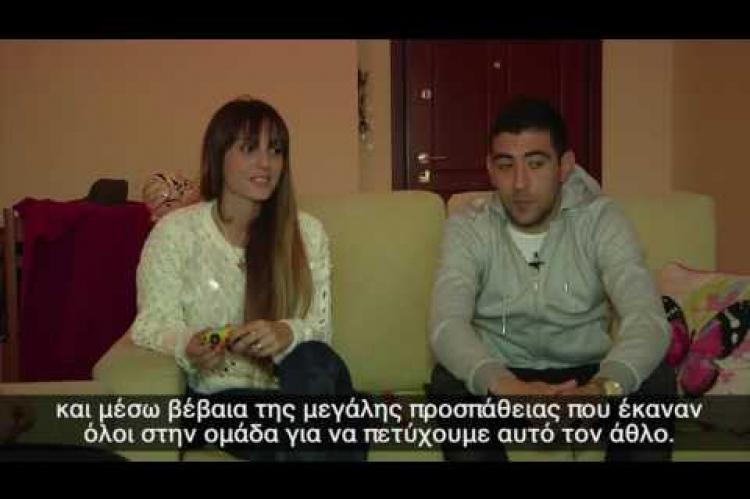 Η οικογένεια του Pablo Mazza στο ATFC.tv!