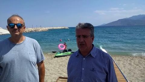 Περιφ. Σύμβουλος κ. Μπακούρης για την ηλεκτρική ράμπα ΑΜΕΑ