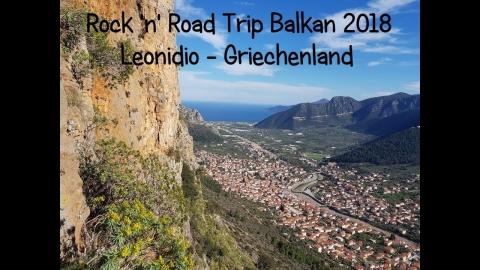 Rock 'n' Road Trip Balkan 5: Klettern in Leonidio Teil 1