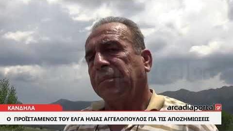 ArcadiaPortal.gr Ο  Προϊστάμενος του ΕΛΓΑ  για τις αποζημιώσεις των αγροτών