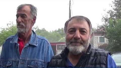 Στις πληγείσες από το χαλάζι περιοχές του Δ Τρίπολης ο Β Γιαννακούρας
