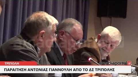 ArcadiaPortal.gr Παραιτήθηκε από δημοτική σύμβουλος η Αντωνία Γιαννούλη
