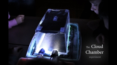 Cloud Chamber experiment - Vytina Primary School
