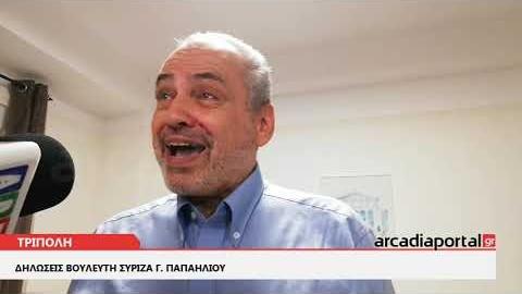 ArcadiaPortal.gr Γ. Παπαηλιού: Πήραμε ένα εξαιρετικά μεγάλο ποσοστό
