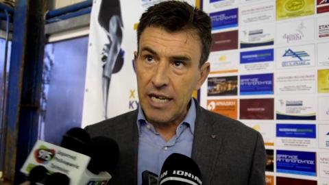 Ο Αντιδήμαρχος Τρίπολης για θέματα αθλητισμού κ. Δημήτρης Μακαρούνης στο Κύπελλο ΚΟΑΤ