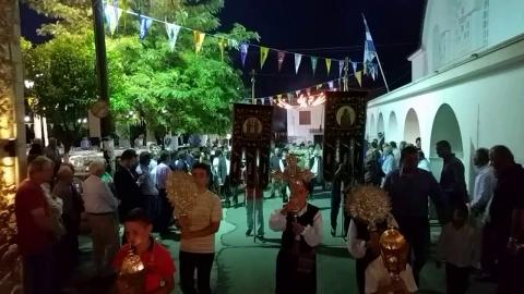Εσπερινός στον Ιερό Ναό Αγίων Κωνσταντίνου και Ελένης στον Άγιο Ανδρέα(3)
