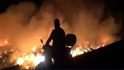 Στη φωτιά στη χωματερή του Άστρους ο Βαγγέλης Γιαννακούρας