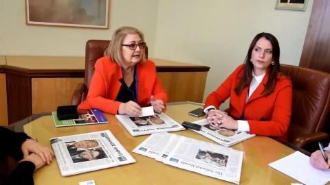 Το προεδρείο του Ελληνικού Τμήματος της Ευρωπαϊκής Ενωσης Γυναικών στον «Ε.Κ.»