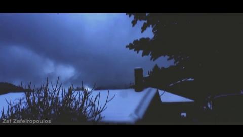 Βαλτεσινίκο Αρκαδίας στα λευκά   Zaf Zafeiropoulos   mini film ( short snow film)
