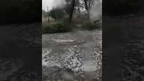 "Arcadia Portal - Βροχή από ""πέτρες"" στα Χάνια Σκοπής"