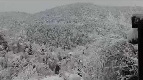 ArcadiaPortal.gr Χιονισμένα τοπία στα Βούρβουρα