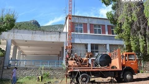 Εργαστηριακοί έλεγχοι για την αποκατάσταση σεισμόπληκτου σχολικού κτιρίου στο Λεωνίδιο