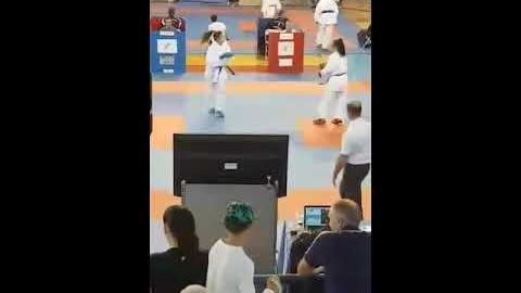 Στην Εθνική Ομάδα καράτε αθλήτρια του «Σπάρτακου» Μεγαλόπολης