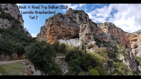 Rock 'n' Road Trip Balkan 6: Klettern in Leonidio Teil 2