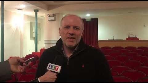 Συνέντευξη τύπου του κ. Βρέντας με θέμα τις εργασίες συντήρησης στο Μαλλιαρπούλιο