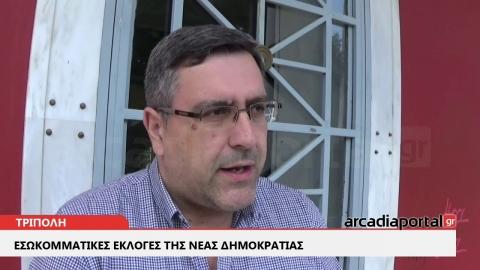 ArcadiaPortal.gr Ομαλά διεξάγονται οι εσωκομματικές εκλογές της ΝΔ στην Τρίπολη