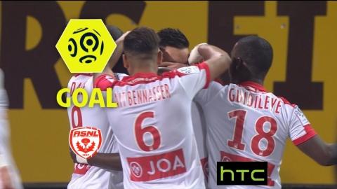 Goal Modou DIAGNE (59') / AS Nancy Lorraine - AS Saint-Etienne (3-1)/ 2016-17