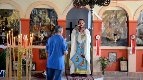 Γιορτάστηκε η Παναγιά στο Θεόκτιστο Γορτυνίας