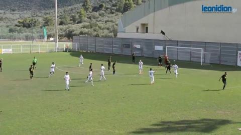 Κύπελλο: Λεωνίδιο - Βρασιές 3-0