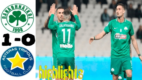 Panathinaikos vs Asteras Tripolis 1-0 All Goals & Highlights 16.02.2019