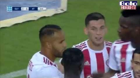 Olympiacos vs Asteras Tripolis 1-0 All Goals & Highlights 24.08.2019