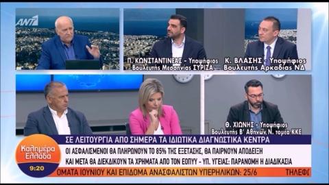 Κώστας Βλάσης - ΑΝΤ1 - Καλημέρα Ελλάδα (13/06/2019)