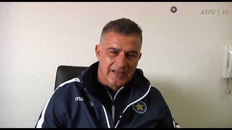 Γιάννης Δουβίκας (Διευθυντής Αγωνιστικού Ακαδημιών Αστέρα & Προπονητής Κ19)